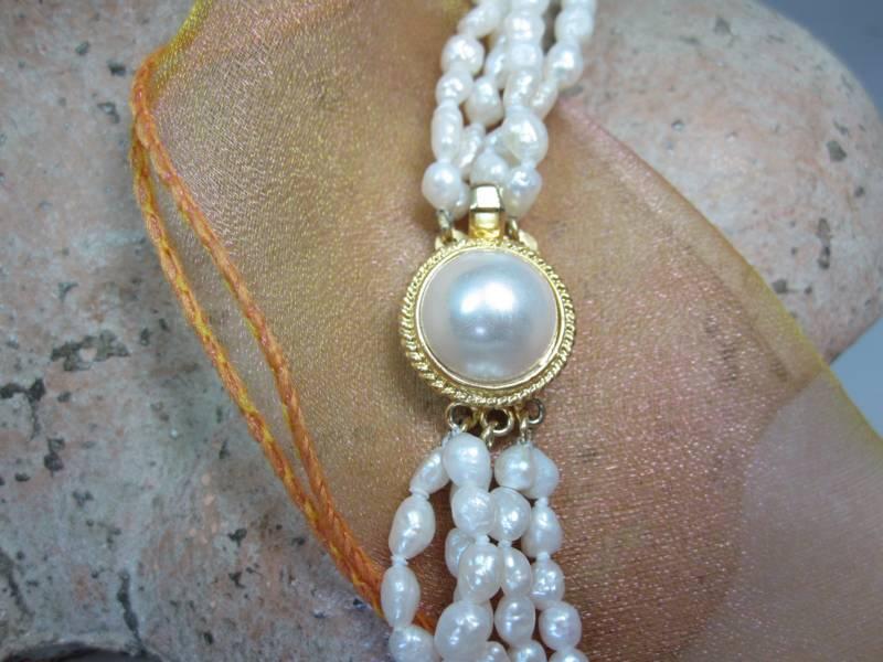 Perlenschmuck Perlenarmband