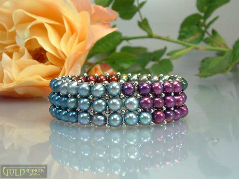 Perlenarmband flexibel
