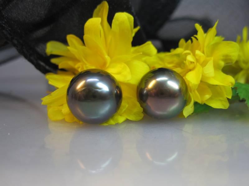 Perlen anthrazit