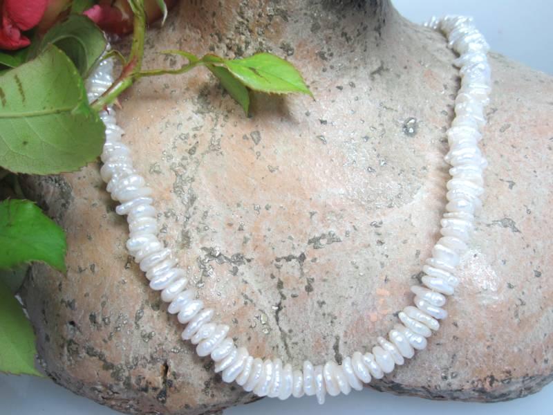 Perlenkette Keshi