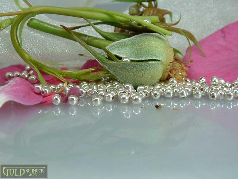 Silberperlen Ketten basteln