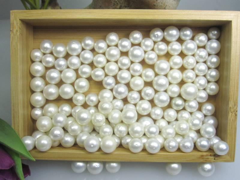 Perle für Ohrring