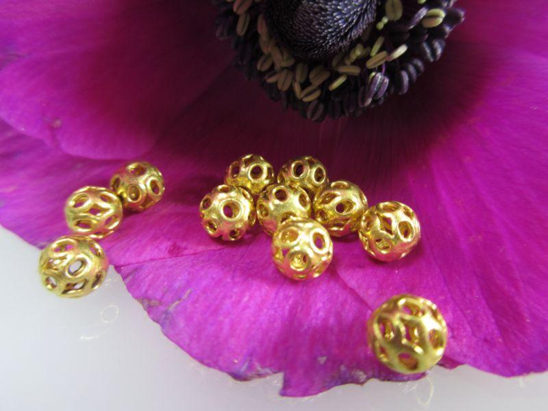 Beads aus echtem Gold