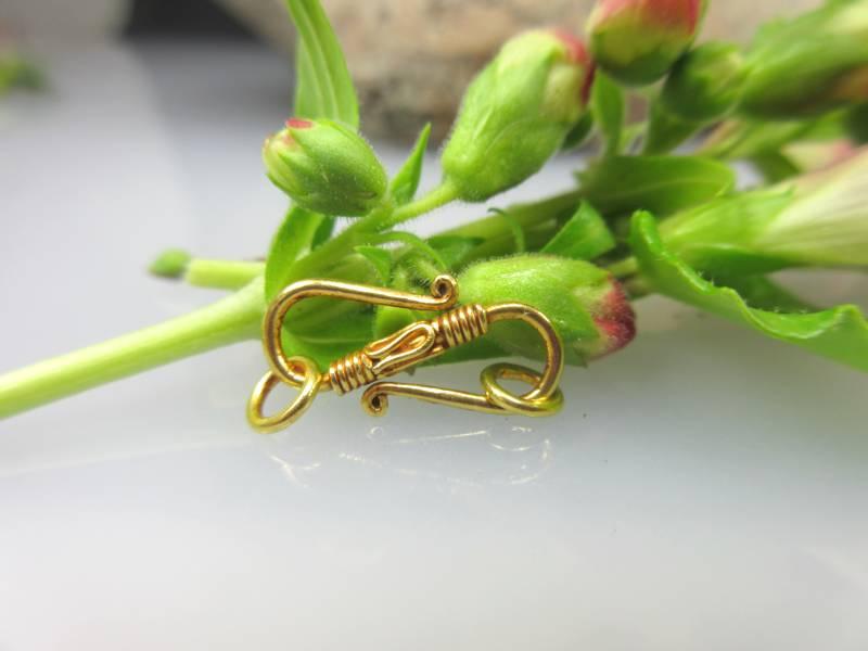 Biegeschließe Echtgold