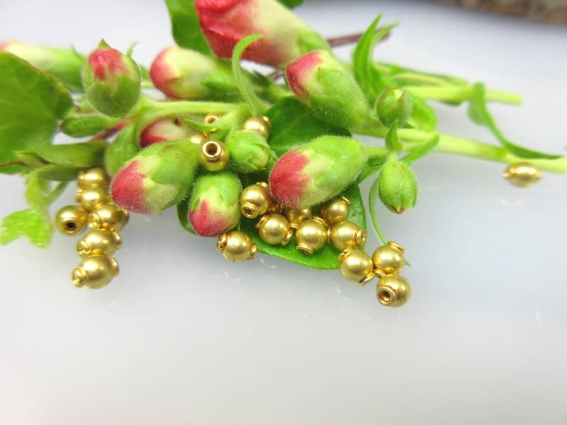 Gelbgold Perlen