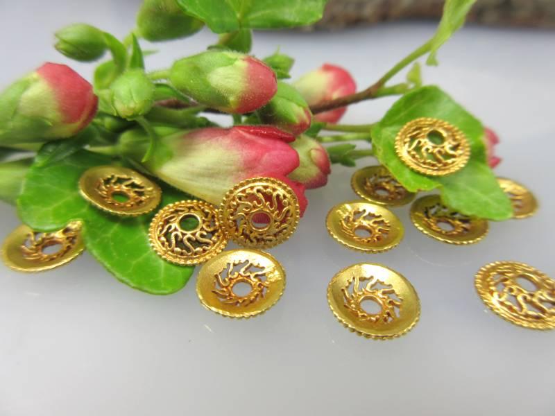 Zwischenteile aus 750er Gold