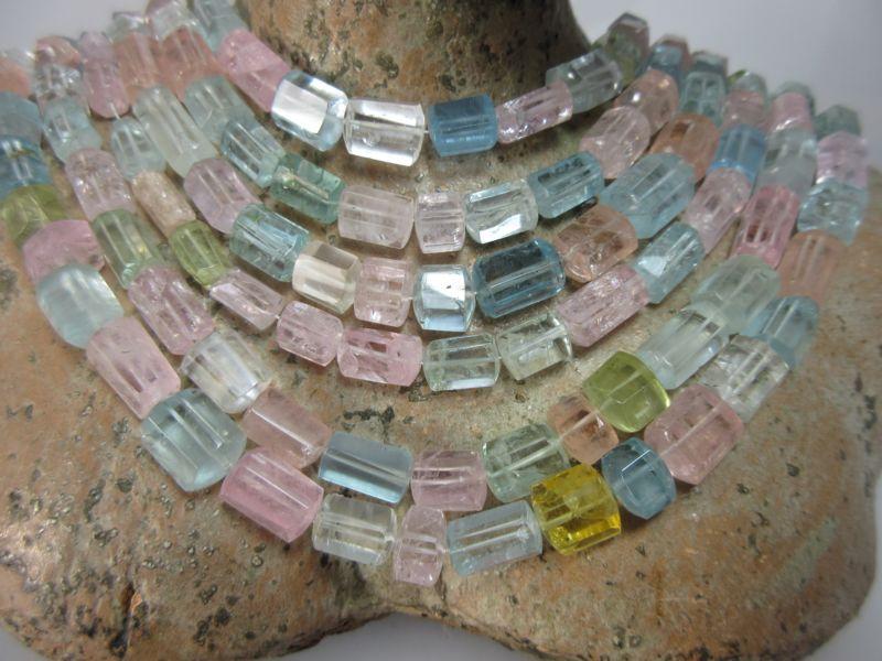 Beryll Halskette