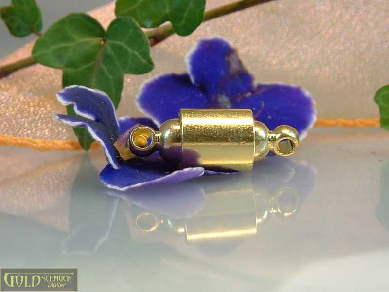 Magnetverschluss golden