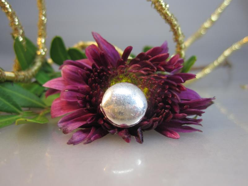 Beads Echtsilber Scheibe