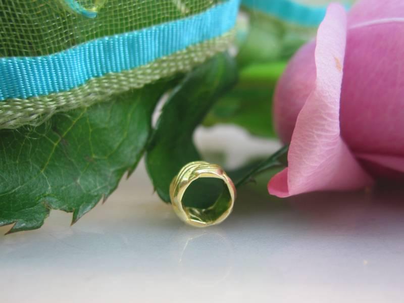 Zwischenelement 925er vergoldet Ring