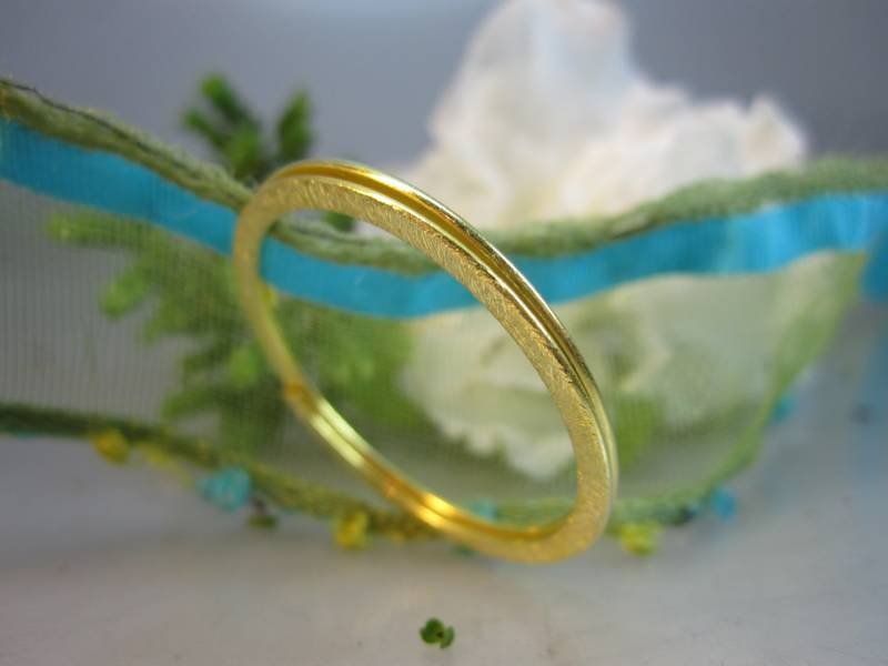 Zwischenteil Silber vergoldet 29mm