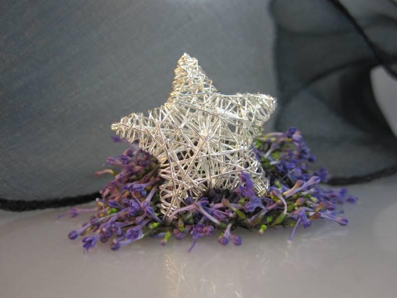 Zwischenelement 925er Silber Stern