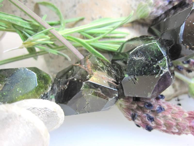 Chromturmalin Steinkette