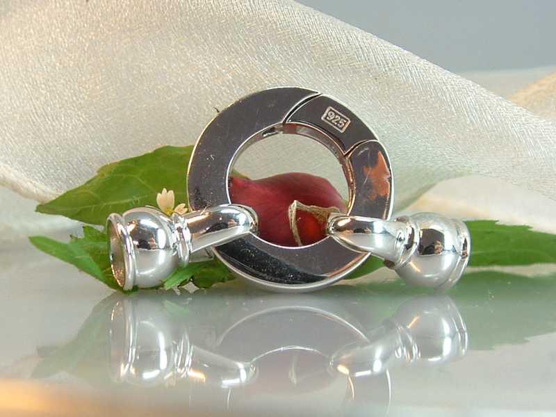 Karabinerverschluss Halskette