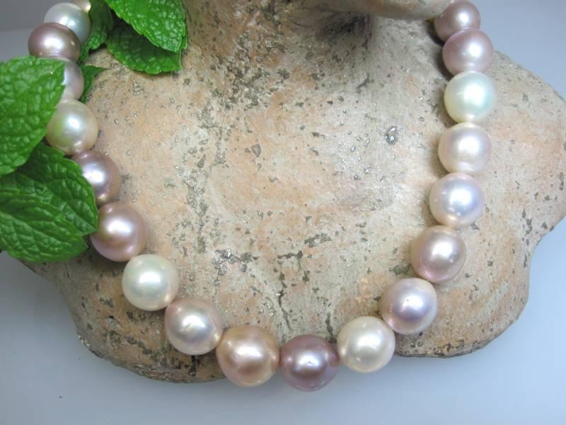 Perlen Naturfarbe