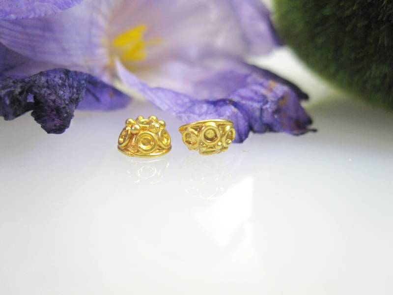 Goldelement für Halskette Armband