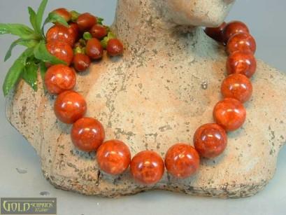 Schaumkoralle rot