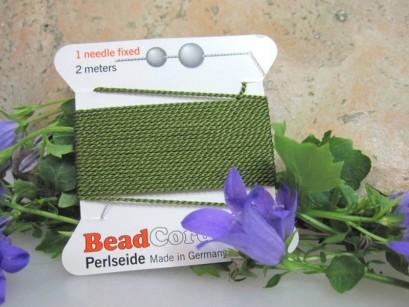 Perlseide olivgrün