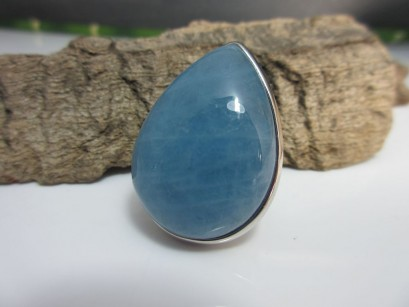 Aquamarin Ring 31x23mm
