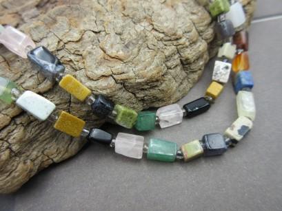 Multicolor Edelsteinkette