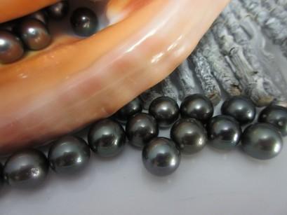 Perlen rund