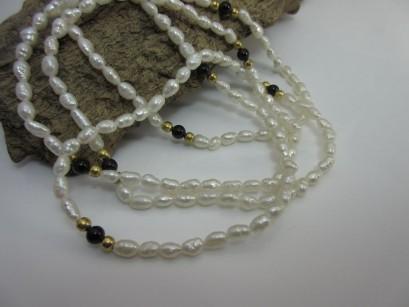 Perlenkette endlos