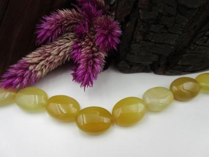 Quarzedelstein gelb