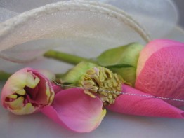 """10 Perlnadeln, klassisch zum """"Quetschen"""", Größe: grob 0,50mm"""