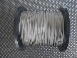 1m hochflexible Stahllitze, Durchmesser 1.35mm, 49-fach