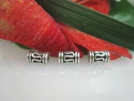 ZS158 -- 2 Stück Zwischenteile 925er / Zierelement hochwertig