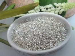 Der Klassiker : 100 Quetschhülsen Bohrung 0,5mm 925er Silber