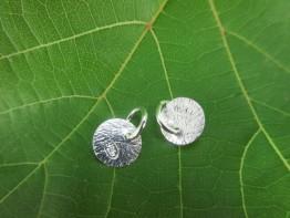 ZS88 -- 2 Stück Silberpunzen - Einhänger/ Kettenfertigung 925er