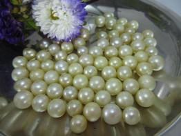Perle goldfarben rund 11mm 24,90 Euro / B-Klasse