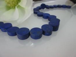 Lapislazuli aus Afghanistan/ Scheiben im Dickenverlauf 5-9mm