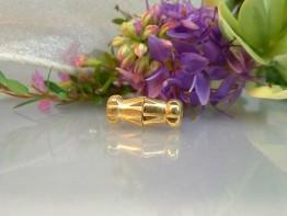 K146 -- Superfeine verg. Schließe + Gewindestift 12x5mm