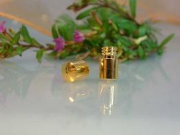 K157 -- Feine verg. Schließe + Gewindestift 12x5mm