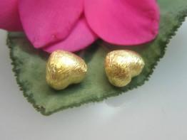ZS83 -- 1 Zwischenelement 925er Silber vergoldet Herz