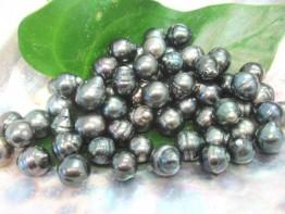Wunderschöne schwarze Tahitiperle/ gebohrt nur 12,90 Euro