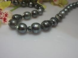Barockperlen Tahitistrang riesige Perlen 12-14mm Nr.18
