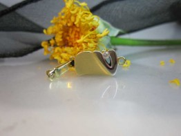 GS39 -- Excl. echtgoldene 585er Schließe mit Zirkonia verziert