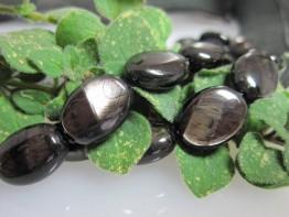 Neu bei Schmuckmueller : Hypersthen/ Ferrosilit in Oliven flach