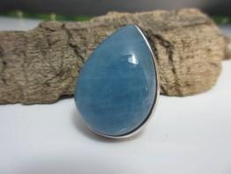 Aquamarin Ring 31x23mm riesiger Edelstein in 925er Silber