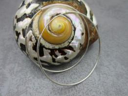 Creolen Silber echt 925er Durchmesser 54mm nur 9,90 Euro