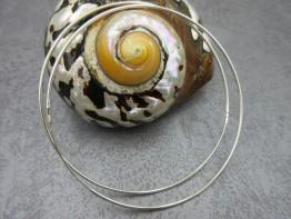 Creolen Silber echt 925er Durchmesser 72mm nur 14,90 Euro