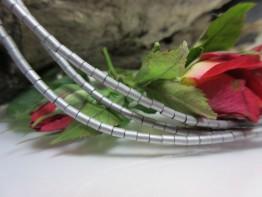 Haematit versilbert - Hämatinstein 2mm in feinsten Walzen