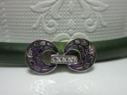 Kettenschließe silbern 925er Silber mehrreihig KS33