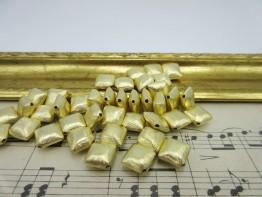 Kissen vergoldet 8x5mm 925er verg. 1 Stück Modell ZS120