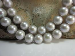 Perlen silbern 9mm rund sehr schöne Qualität Modell 1