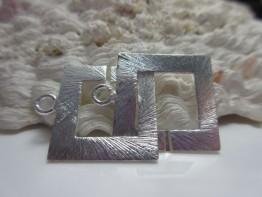 Ring Ring Schmuckverschluss 925er Silber KS161