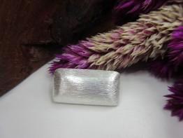 Silbernes Kissen 24x12mm 925er Silber 1 Stück Modell ZS195
